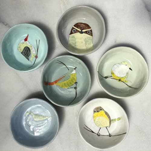Tableware by Gemma Orkin Handmade Ceramics seen at ibbi direct, East Wallhouses - Ceramic Bowl