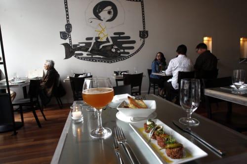 Bar Crudo, Bars, Interior Design