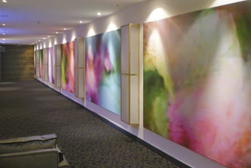 Photography by Rica Belna seen at Hotel Trofana Royal, Ischgl - Rica Belna - Wall Filling, Abstract Artworks
