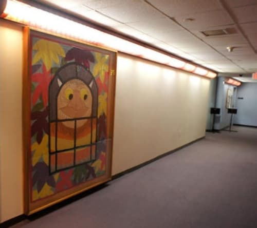 Art & Wall Decor by Adrienne Yorinks seen at New Haven Free Public Library, New Haven - Where The Wild Things Are