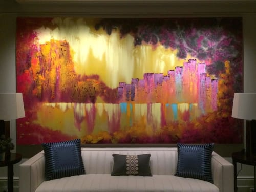 Paintings by Bryan Ricci seen at Private Residence, New York - Sunnyside