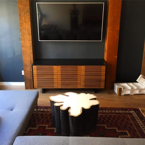 Tables by Mth Woodworks seen at Private Residence, Vancouver - Bloom Coffee Table Style No. 3.2