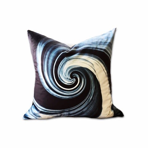 Pillows by Joanie Landau seen at Private Residence, Norwalk - Hey Soul Sister-JLD48