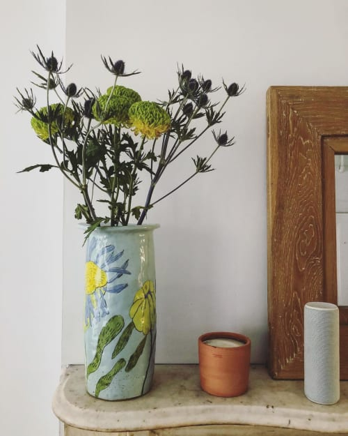 Vases & Vessels by Gemma Orkin Handmade Ceramics seen at Private Residence, Brooklyn - Vases