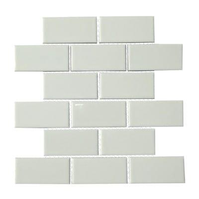 Tiles by Mulia Tile seen at The Joshua Tree Casita, Joshua Tree - White Subway Tile