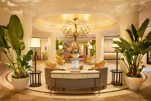 The Beverly Hills Hotel, Bars, Interior Design