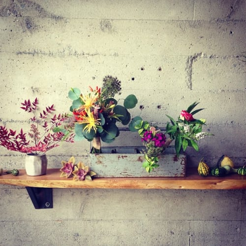 Floral Arrangements by The Petaler seen at Sightglass, San Francisco - Floral Arrangements