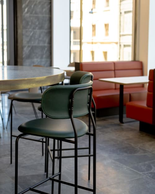 Chairs by 1000 Chairs seen at RUNDLE MALL PLAZA, Adelaide - Coco Bar Stools