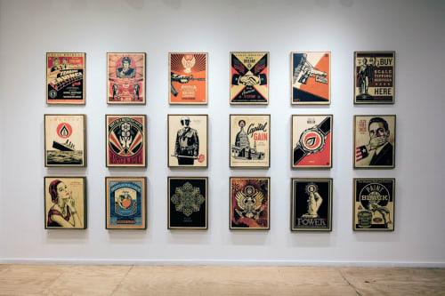Frank Shepard Fairey - Paintings and Murals
