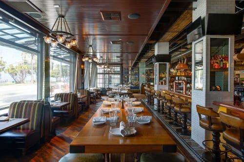 Interior Design by Hatch Design Group seen at Water Grill San Diego, San Diego - Interior Design