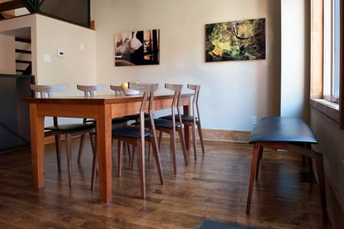 Tables by Reed Hansuld at Private Residence, Brooklyn - Dining Chair No. 6