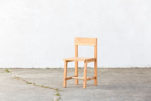 Chairs by Four / Quarter seen at Little Gem, San Francisco - Dowel Dining Chair