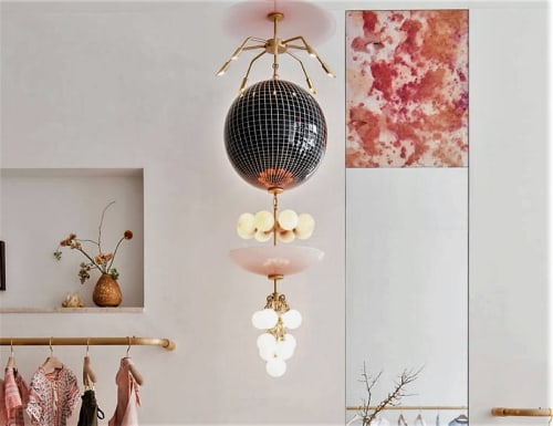 Pendants by Lindsey Adelman seen at Ulla Johnson, New York - Pendant Fixture