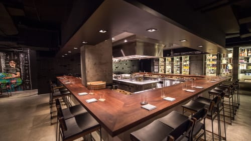 Momofuku Ko, Bar, Interior Design