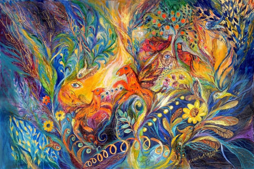 Elena Kotliarker - Paintings and Art