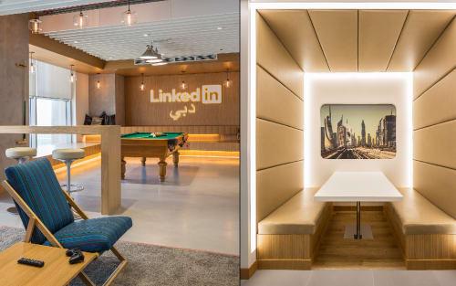 LinkedIn, Dubai, Offices, Interior Design