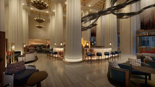 Nobu Downtown, Restaurants, Interior Design