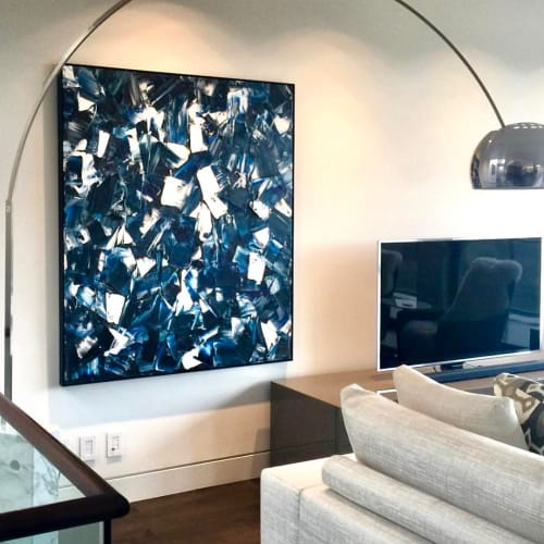 Paintings by Carla Tak seen at Private Residence, Vancouver - Untitled 10/1017