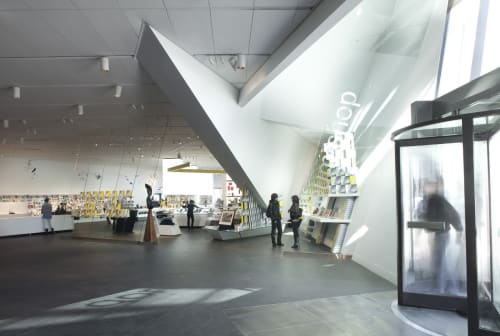 Denver Art Museum, Art Galleries, Interior Design