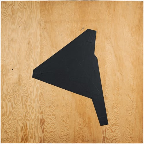 Paintings by Judy Rifka seen at Harvard Art Museums, Cambridge - Untitled 1974