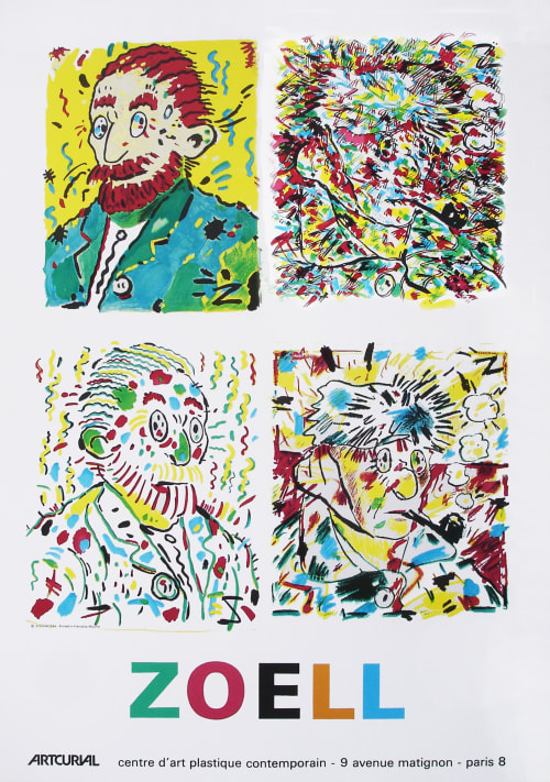 Paintings by undefined seen at Pasadena, CA, artist's home/studio, Pasadena - Zoell