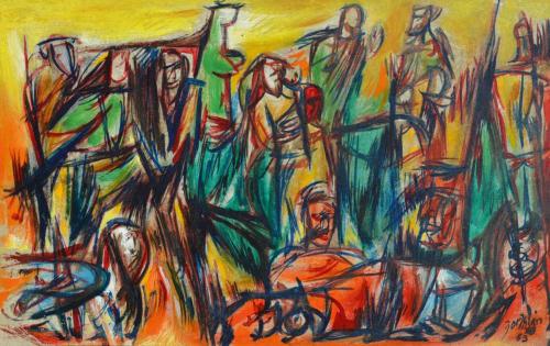 Jirayr H. Zorthian - Murals and Art