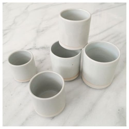 Cups by Nobuhitu Nishigawara seen at The Assembly, West Hollywood - Ceramic Coffee Mug