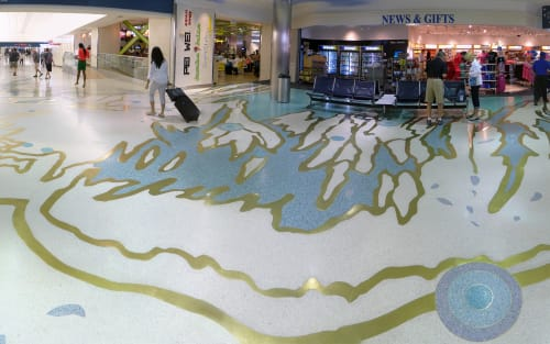 Art & Wall Decor by Scott Parsons seen at Fort Lauderdale-Hollywood International Airport, Fort Lauderdale - Rainbow's End