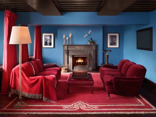 Gramercy Park Hotel, Hotels, Interior Design