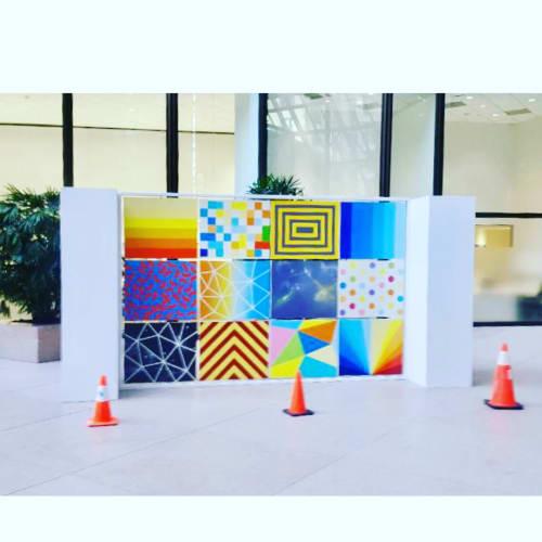 Art & Wall Decor by DeeJon Art seen at Pennzoil Place, Houston - Interactive Art Installation