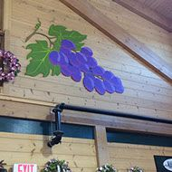 Murals by Danielle Wager seen at Calareso's Farm Stand & Garden Center, Reading - Mural