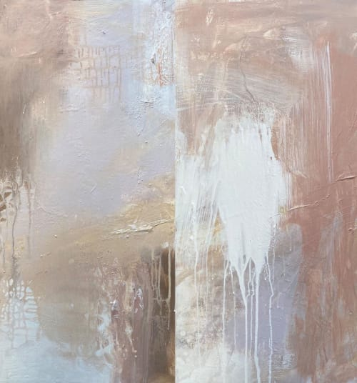 Paintings by Kathleen Rhee seen at Gold Coast, Gold Coast - Earth Tone Abstract