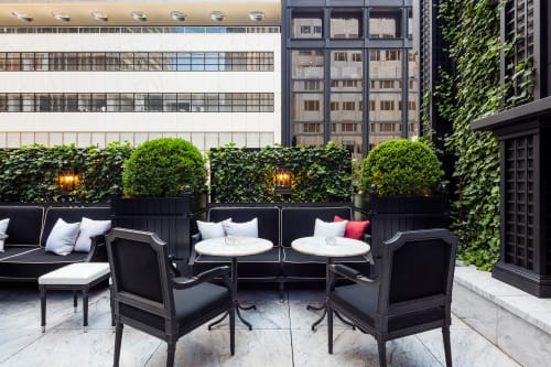 Plants & Landscape by Harrison Green seen at Baccarat Hotel & Residences New York, New York - Bar Terrace