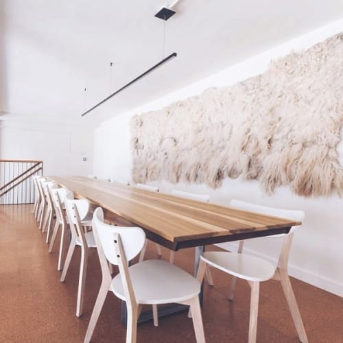 Tables by Monkwood at Lord Stanley, San Francisco - Community Table