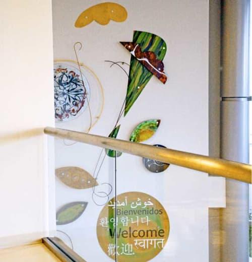 Sculptures by Linda Raynsford seen at Kaiser Permanente Orange County - Irvine Medical Center, Irvine - Kaiser Permanente