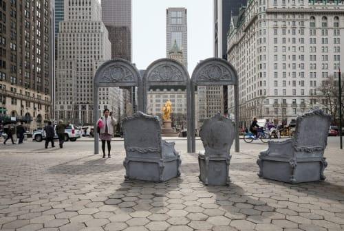 Doris C Freedman Plaza