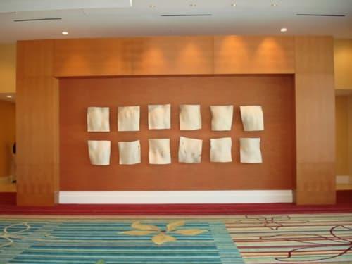 Sculptures by Christian Burchard seen at Hilton Orlando, Orlando - Wall Sculpture