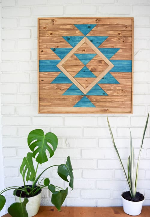 Wall Hangings by Roaming Roots at The Pioneer Woman Boarding House, Pawhuska - Everlasting Life Wood Wall Art