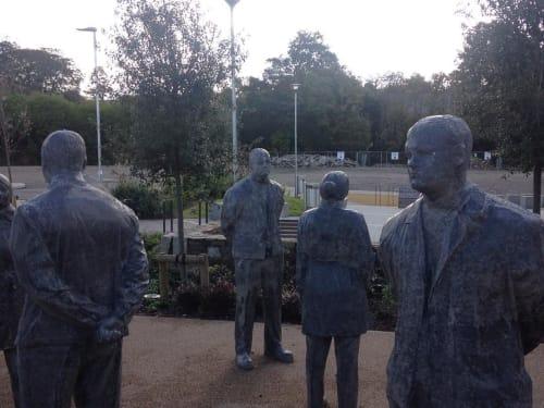 Public Sculptures by Littlewhitehead seen at Kresen Kernow, Redruth - Untitled, 2015