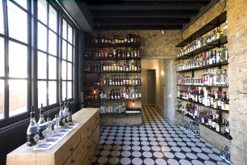 Interior Design by Michael Sodeau Studio seen at East London Liquor Company, London - Interior Design