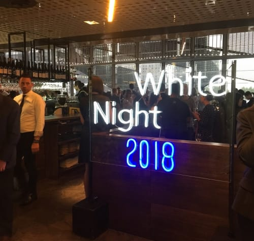 Lighting by Carla O'Brien seen at White Night Melbourne, Melbourne - White Night 2018
