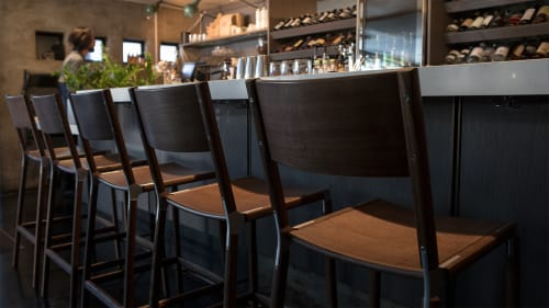 Chairs by Fyrn seen at The Morris Restaurant, San Francisco - Stanyan Bar Stool
