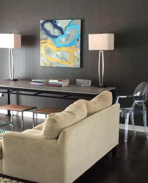 Paintings by Beth Gandy seen at Private Residence - Wall Art Painting
