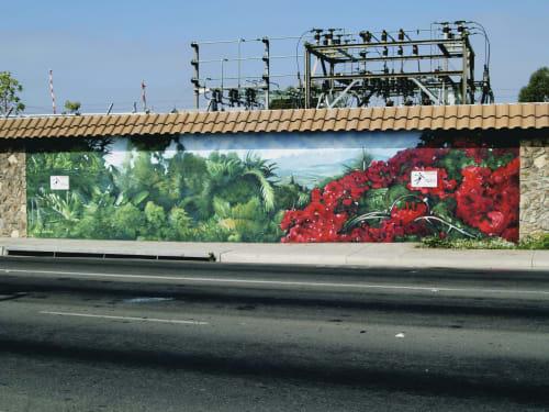 Street Murals by Lori Escalera seen at 230 N Santa Fe Ave, Vista - Vista View North