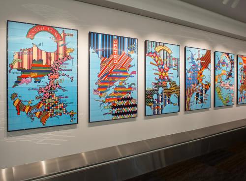 Art & Wall Decor by Lordy Rodriguez at San Francisco International Airport, San Francisco - Strangerhood