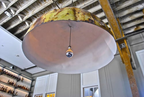 Interior Design by Lundberg Design seen at Hard Water, San Francisco - Buoy Pendant Light