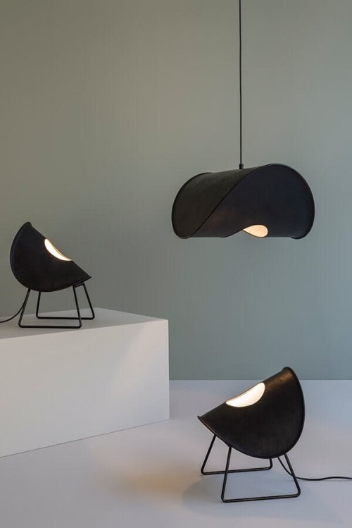 Lamps by Uniqka seen at YurtCollection, Den Haag - Zero Lamp One Standing