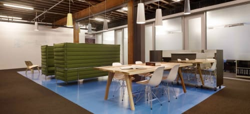 Tables by Mike & Maaike at Durie Tangri LLP, San Francisco - Divis Table for Council
