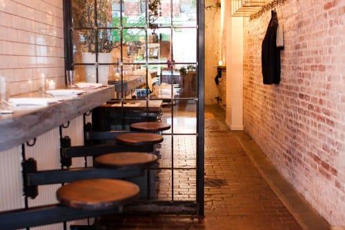 Chairs by Phil Winser seen at The Fat Radish, New York - Custom Bar Stool