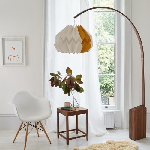 Lamps by Kate Colin Design seen at 67 York Street, London - Folded Floor Lamp